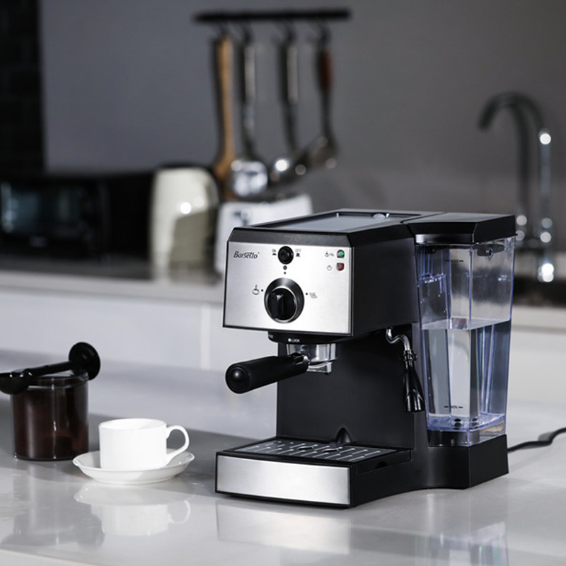 BARSETTO muti-function Coffee Machine Espresso and Milk Foam 15Bar Pump Pressure Coffee Maker-EU PlugBARSETTO muti-function Coffee Machine Espresso and Milk Foam 15Bar Pump Pressure Coffee Maker-EU Plug
