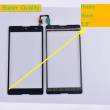 10Pcs/lot For Wiko Robby Touch Screen Panel Sensor Digitizer Front Outer Glass Touchscreen For Wiko Robby Touch Panel Black 10pcs lot for wiko ridge fab 4g lcd display touch panel black color mobile phone lcds with touch screen free shipping
