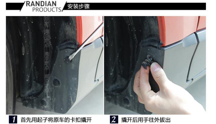Крыло помогает противостоять знак высокое качество шина крыло буферного типа автомобиля fender используется для Geely emgrand X7 GX7