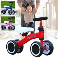 1 3 years Child Tricycle Bike 3 Wheels Baby Balance Bike Learn To Walk Balance Sense No Foot Pedal Riding Toys for Kids Toddler