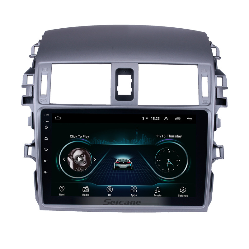 Seicane Android 8 1 9 inch 2Din Car Radio WIFI Bluetooth Quad Core Multimedia Player For