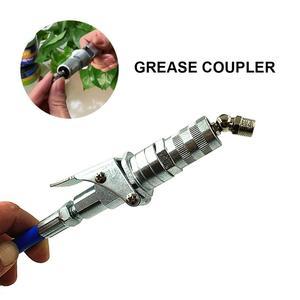 Image 2 - Professional Grease Coupler คีมล็อคแรงดันสูงจาระบีคู่บรรจุหัว Self   Locking จาระบีปาก