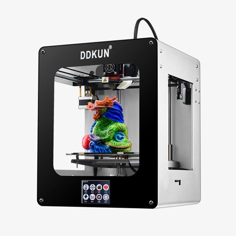 Impressora Imprimante Impresora 3d Imprimante Drucker Stampante Impression Machine Fdm Bureau En Métal Cadre Unique Extrudeuse 3d Imprimante