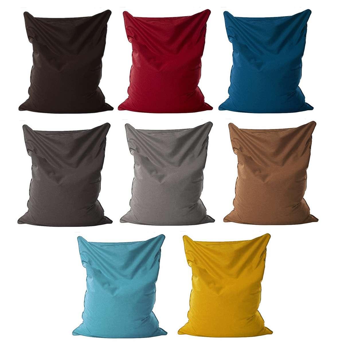 Lazy BeanBag Sofas Cloth Lounger Seat Bean Bag Sofa Cover