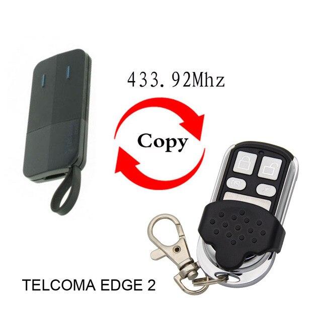 تيلكوما EDGE2 EDGE4 جهاز تحكم عن بعد 433.92 ميجا هرتز بوابة الزراعة الباب تيلكوما الحافة 2 4 433,92 ميجا هرتز جهاز التحكم عن بعد