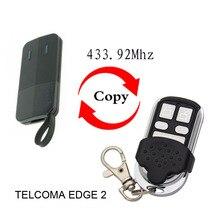 TELCOMA EDGE2 EDGE4, control remoto, 433,92mhz, puerta de agrage, borde de TELCOMA, 2, 4, 433,92Mhz, control remoto