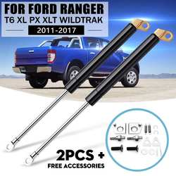 1 par porta traseira strut choque gás lento para a esquerda e direita para ford ranger t6 xl px xlt wildtrak 2012 2013 2014 2015 2016