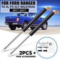 1 para tylna brama Strut Shock gaz zwolnić lewy i prawy dla Ford dla Ranger T6 Xl Px Xlt Wildtrak 2012 2013 2014 2015 2016 w Klapy bagażnika i części od Samochody i motocykle na