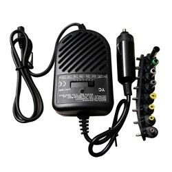 SOONHUA uniwersalny 80 W DC Auto ładowarka samochodowa Adapter Laptop Notebook zasilacz łodzi lub samochód kempingowy szeroko kompatybilny w Adaptery AC/DC od Elektronika użytkowa na