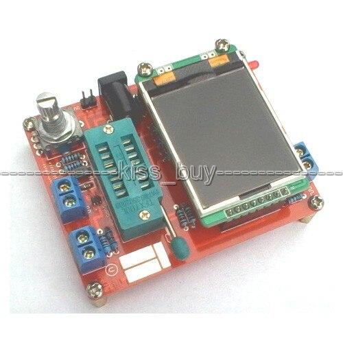 2016 DIY Transistor ATMEAG328P M328 KITS ESR meter PWM Square wave Signal Generator Tester LCR Diode Capacitance
