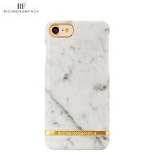 Защитный чехол R&F для iPhone 7 carrara white marble