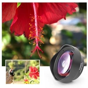 Image 5 - Pholes 75mm Mobile Macro Lens Phone Camera Macro Lenses For Iphone Xs Max Xr X 8 7 S9 S8 S7 Piexl Clip On 4k Hd Lens