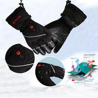 Зимние USB руки теплые электрические термальность Прихватки для мангала перезаряжаемые перчатки с подогревом на батарейках Велоспорт Мотоц