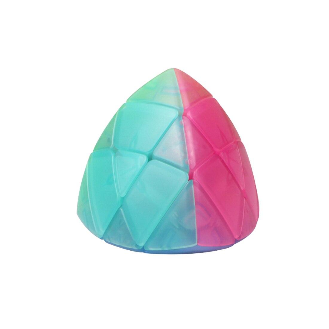 Ensemble de Cube de gelée QiYi comprenant pyramide SQ-1 Mastermorphix 2x2 3x3 4x4 5x5 Kits de Cube magique - 4