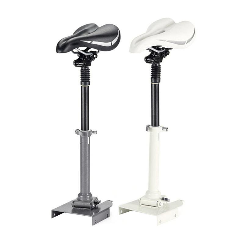 Pour NINEBOT ES1 ES2 ES3 ES4 Scooter électrique réglable spécial Absorption des chocs siège télescopique sièges de poinçonnage gratuits