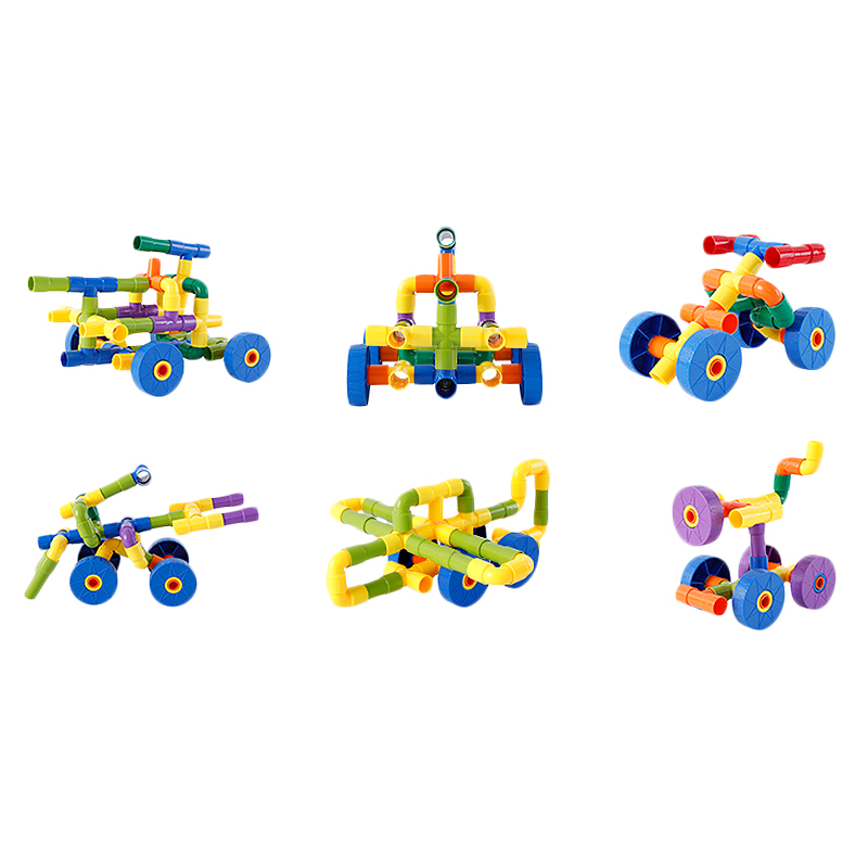 Onshine Children'S Pipe Building Blocks Toys