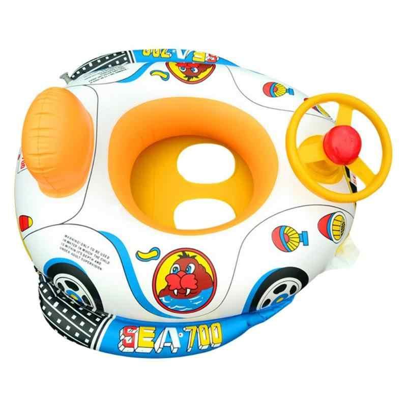 เด็กทารกแหวนว่ายน้ำเด็กสระว่ายน้ำที่นั่งเด็กวัยหัดเดินน้ำลอยน้ำแหวน Aid Trainer Inflatable ของเล่นน้ำเด็ก