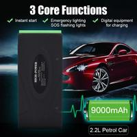 Car Jump Starter 12V Portable Power Pack Auto Battery Booster Car Charger Car Battery Car Usb Charger