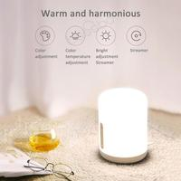 Xiaomi Mijia Original Bedside Lamp 2 Smart Romantic Light Voice Control Touch Switch For Apple Homekit Siri & xiaoai clock