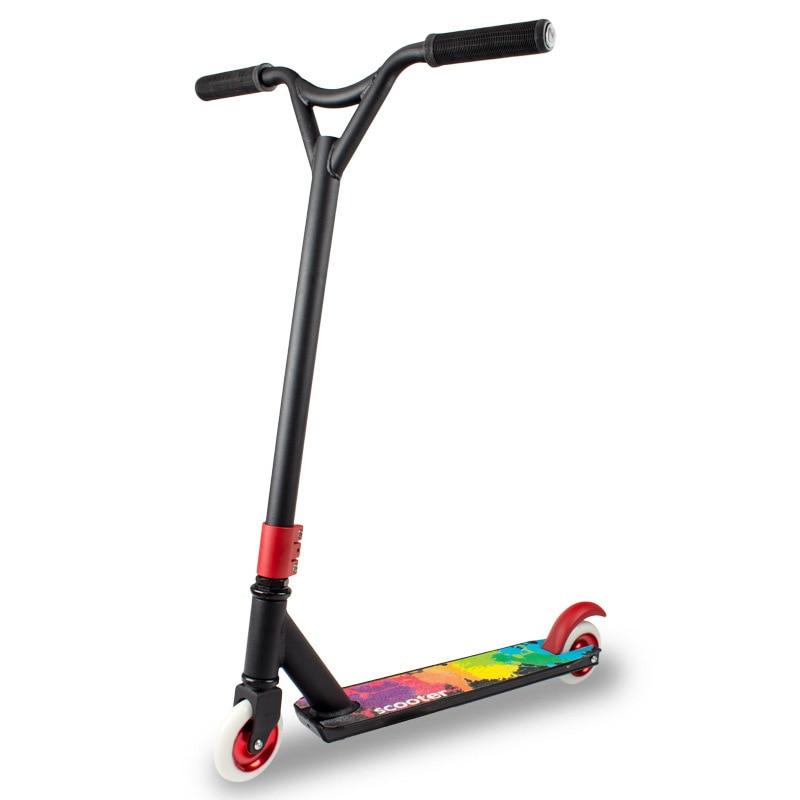 Kick Limit Scooter XLL-J17 urbain Sport extrême roue en polyuréthane 2 roues pour Adolescents Skateboard cascades extrême léger équitation