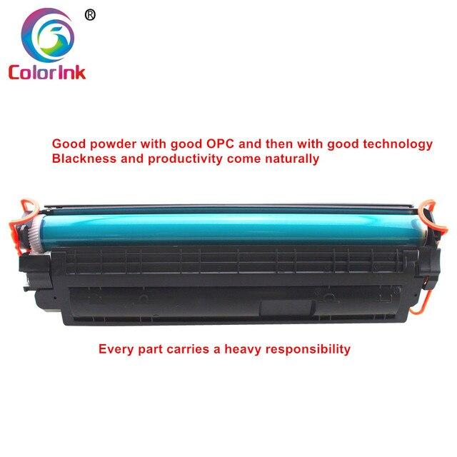 ColorInk CB435A 435A 35A toner cartridge for HP LaserJet P1002/P1003/P1004/P1005/P1006/P1009 printer black toner cartridge 1