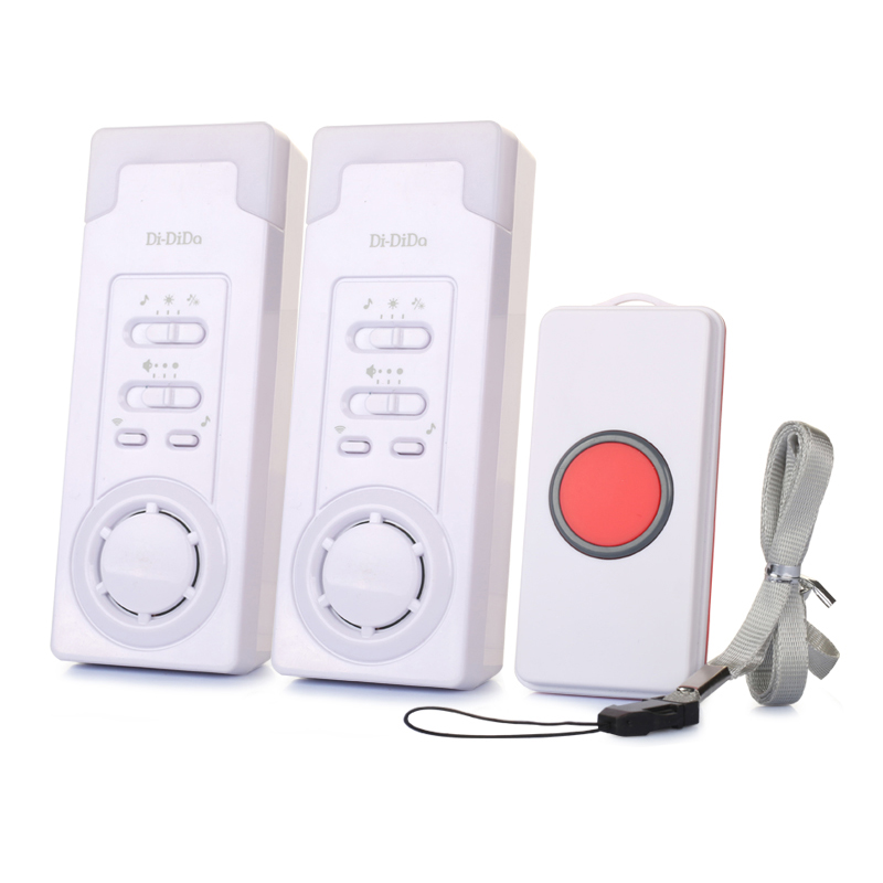 DiDiDa Home Monitor Caregiver Pager Wireless Patient Emergency Call Button Caregiver Pager For Elderly Patient Pregnant Child