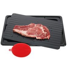 Лоток для разморозки замороженных продуктов тарелка для разморозки для быстрого разморозки мяса, курица, самая безопасная без электричества, без микрова