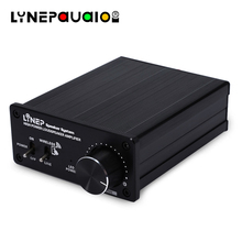 цена на 100w+100 Digital Power Amplifier Wireless Bluetooth + Line Input TDA7498E Chip Manual Switching Input