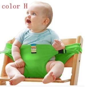 Hot Sale Babystol Portabel Sikkerhedsbælte Seat Feeding Harness Infant Dinning Produkt