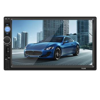 7 Inch 2 DIN Car Bluetooth Stereo Radio Car Mp5 Card Player Connected To The Camera Support APE, FLAC, WAV, DIS Lossless Audio