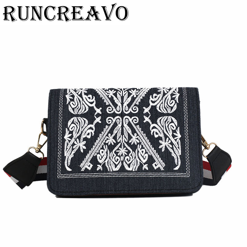 2018 new Flap Fashion Embroidery Messenger Bag for Women Flowers Ladies Small Crossbody Bags Famous Brands Designers Bag bolsa2018 new Flap Fashion Embroidery Messenger Bag for Women Flowers Ladies Small Crossbody Bags Famous Brands Designers Bag bolsa
