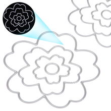 1 set Cutting Dies Flower Decoration Stencils For DIY Paper Cards Decor Crafts Templates Scrapbooking Album Embossing Die Cuts