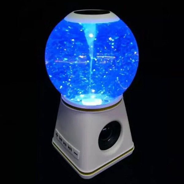 Bluetooth Speakers with Crystal Ball Wireless Portable Speaker for Home Car JLRL88