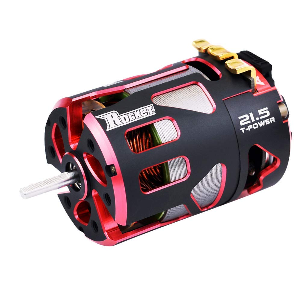 SURPASS HOBBY 540 3.175mm Shaft Sensored Brushless Motor V4S Rocket Brushless 2 Sensor for 1/10 RC Racing Car