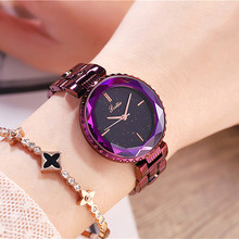 Hot Sale 5-colors Delicate Diamond Quartz Watch for Women Simple Fashion Top Quality Waterproof Steel Wrist Strap