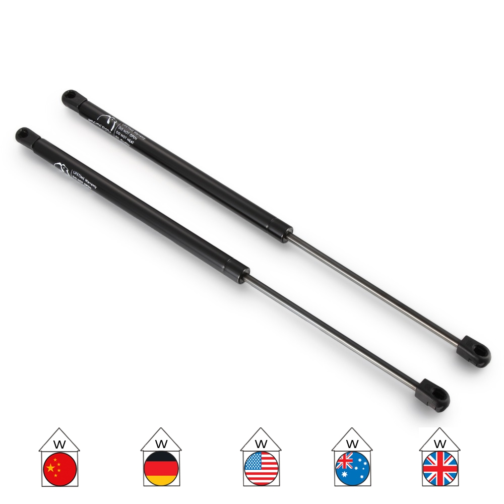2pcs gas tailgate boot support lift struts for peugeot 307. Black Bedroom Furniture Sets. Home Design Ideas