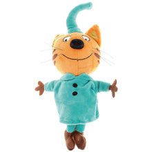 Мягкая игрушка Мульти-Пульти 3 кота Компот, озвученная, 20 см