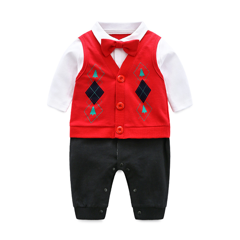 Newborn Baby Boy Formal Outfit Gentleman Romper Tuxedo One Piece Warm Suit party toddler bowtie long sleeve clothesNewborn Baby Boy Formal Outfit Gentleman Romper Tuxedo One Piece Warm Suit party toddler bowtie long sleeve clothes