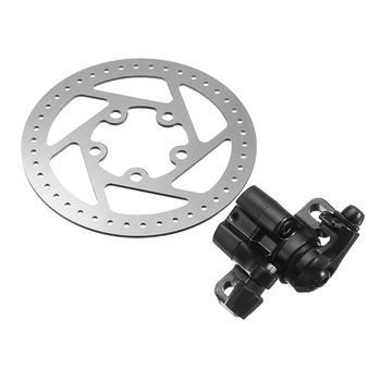 Electric Scooter Accessories Brake Disc Rotors Pads Set