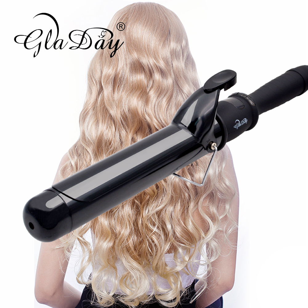 Hair Curler Professional Curling Iron Digital Roller 38MM Wand Irons