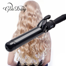 Hair Curler Professional Hair Curling Iron Digital Hair Roller 38MM Hair Curling Wand Curling Irons купить недорого в Москве