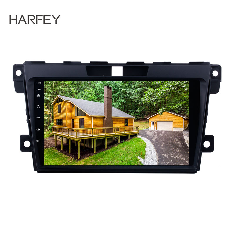 Harfey Android 8 1 2 Din Radio for 2007 2014 MAZDA CX 7 car multimedia player