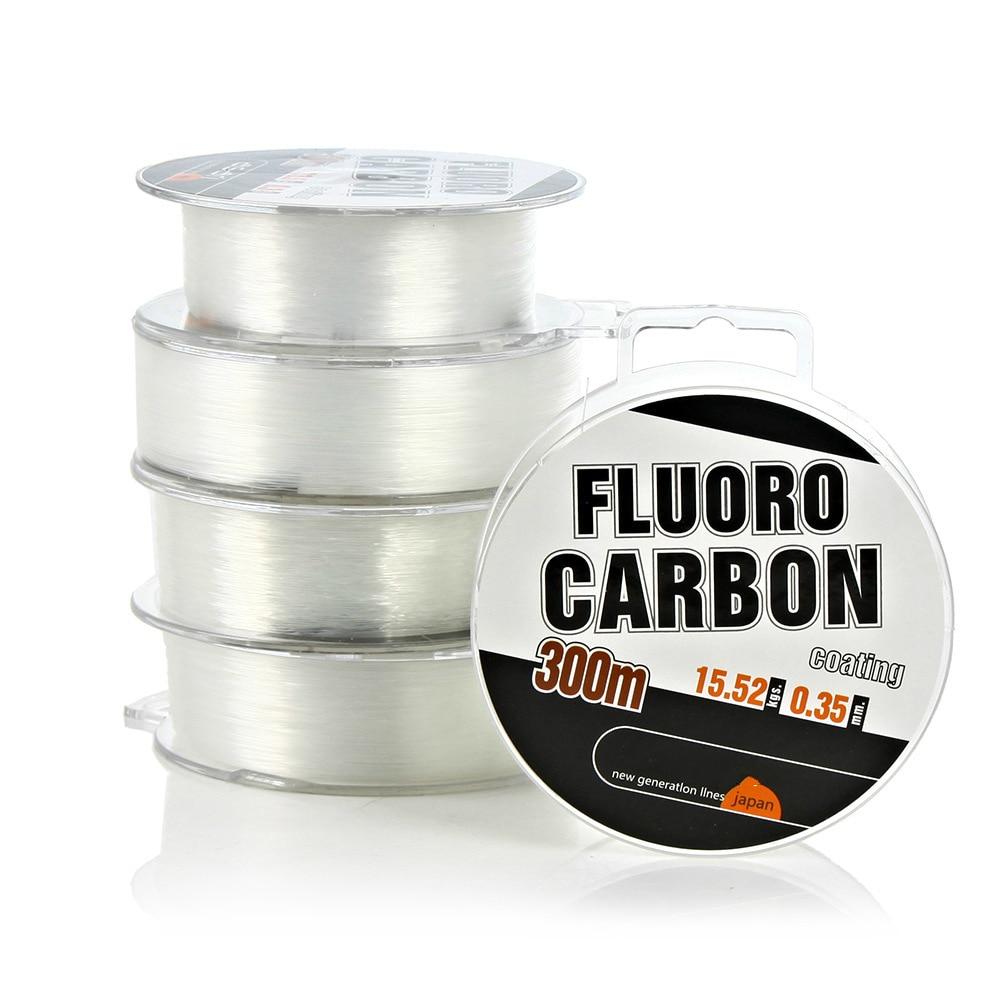 300m FluoroCarbon Coating Monofilament Nylon Fishing Line Japan Imported Super Strong Profesional carp Fishing Line