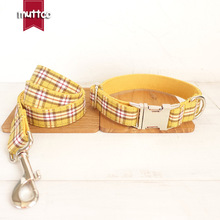 Yellow Handmade Quality Pet Puppy Dog Leashes Durable Traction Rope For Small Dog Cats Dogs Safety Lead Collar Pets Supplies