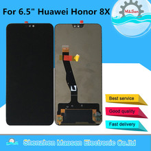 """Original M&Sen 6.5"""" For Huawei Honor 8X JSN AL00 Display Screen Frame+Touch Panel Digitizer Assembly For Huawei Honor V10 Lite"""