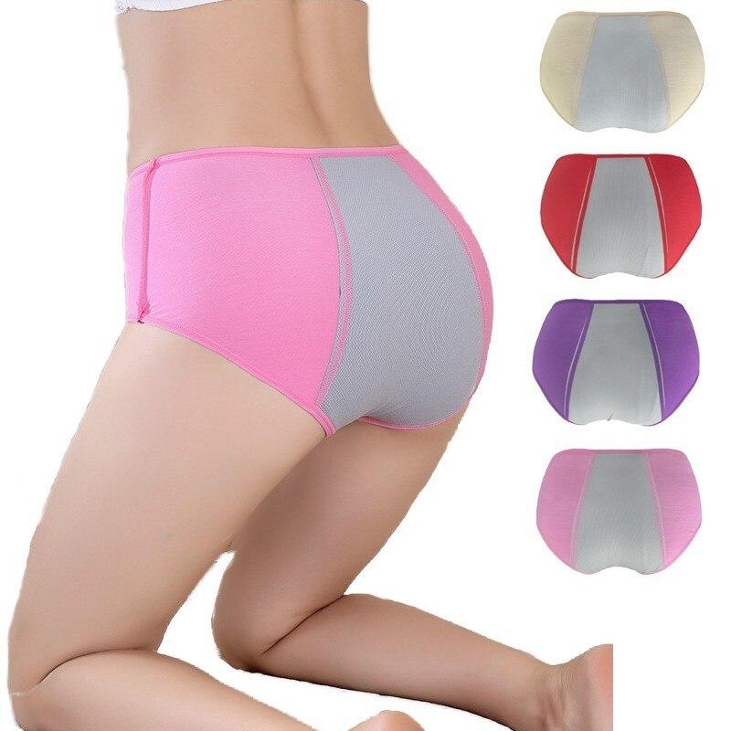 New Arrivals Ma'am Menstruation Women's Panties High Waist Sexy Postpartum Women Underwear To prevent leakage briefs