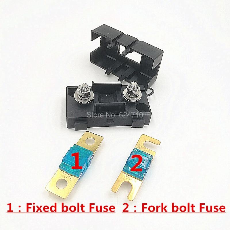 Mini ANL-Sicherung 20A 30A 40A 50A 60A 70A 80A 100A 125A 150A 200A Vergoldet KFZ