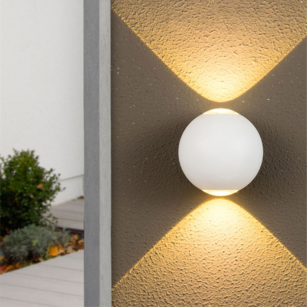 Lights & Lighting Led Outdoor Wall Lamps Temperate Led Wall Lamp Outdoor Waterproof Ip65 Porch Garden Wall Light Home Sconce Indoor Decoration Lighting Lamps Modern Lampa Kinkiet Luxuriant In Design