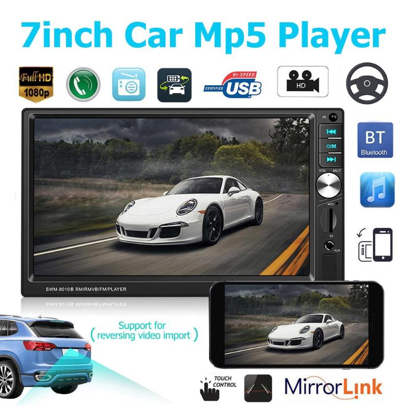 2din Autoradio 7 inch Car MP5 Player Automagnitol FM 2 din Car Radio BT4 0  USB AUX Upgraded Version With/no Rear View Camera