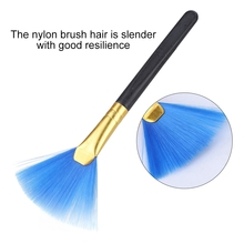 10 шт. портативная нейлоновая Чистящая Щетка для волос, инструмент для ЖК-дисплея, горячая Распродажа